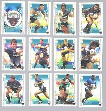 TEN SETS OF 2003  PENRITH  PANTHERS  RUGBY LEAGUE CARDS