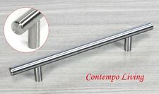"Solid Stainless Steel 10"" Kitchen Cabinet Hardware Bar Pull Handle"