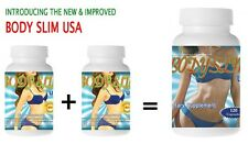 Body Slim USA (new and improved formulation) 120 capsules Diet Supplement