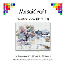 MosaiCraft Pixel Craft Mosaic Kit 'Winter View' Pixelhobby