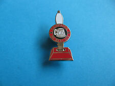 CAMRA, Campaign for Real Ale Beer Pump Pin Badge. Unused. Enamel. Silver Colour.
