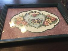 Home Interiors Framed Birds And Floral Picture