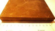 Schungit Platte,150x100x10 mm, ca. 400g, unpoliert  Qualität mit Zertifikat!