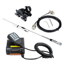 QYT KT-8900R TRI-Band Mobile Radio+100w Antenna+Nagoya 400VB Holder+PL259 Cable