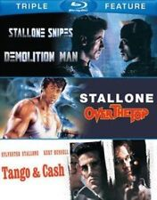 Demolition Man Over The Top Tango and Cash Sylvester Stallone Blu-ray Reg B