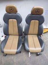 Mercedes Benz SLK Sitze Ledersitze vorne links rechts