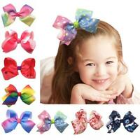 Xmas Gift Kids Hair Clips Hair Accessories Girls Hair Bow Clips Baby Hairpins