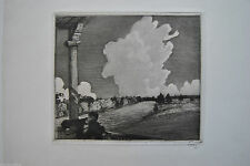 Original-Radierungen (1900-1949) aus Europa mit Arbeitswelt- & Technik-Motiv