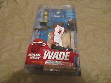 DWYANE WADE Miami Heat NBA Series 17 McFarlane Variant White Premium #198/250