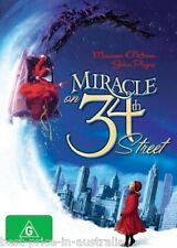 Miracle On 34th Street (1947) DVD ORIGINAL CHRISTMAS MOVIE CLASSIC BRAND NEW R4
