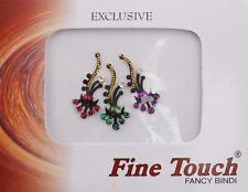 Bijoux de peau multicolore autocollant-bindi-Mariage oriental bollywood-194
