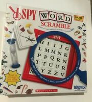 I Spy Word Scramble - Scholastic Game