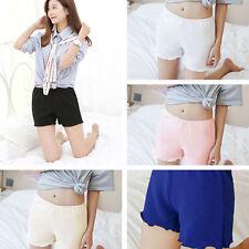 Women Lady Safety Shorts Pants Leggings Seamless Basic Plain for Skirt