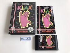 Klax - Sega Genesis - NTSC USA - Avec Notice