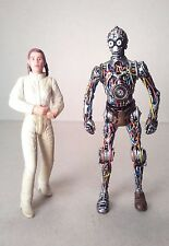kenner LEIA ORGANA and C3PO lot of 2 STAR WARS POWER OF THE JEDI 3.75in. #3750