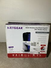 Netgear DGND3700v2 N600 300Mbps 4-Port DSL Modem Wireless Router Combo ADSL2
