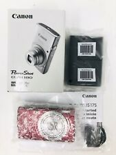 Canon PowerShot ELPH 180 Digital Camera Color: Red