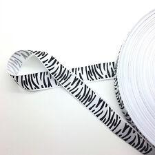 "New 5 Yards 3/4"" (20mm) Printed Grosgrain Ribbon Hair Bow DIY Sewing AD46"