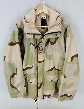 Adventure Tech Desert Camo Goretex Waterproof Military Tactical Parka Jacket M