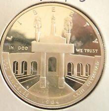 1984 Philadelphia Mint Commemorative 90% Silver Los Angeles Olympiad Dollar Proo