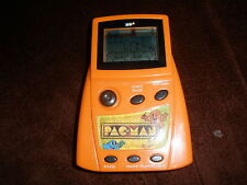Pacman Game Electronic Handheld Orange pac man Pac-Man Namco MGA 1980 2001 WORKS