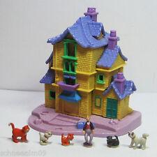 Mini Polly Pocket Disney ARISTOCATS Playset 100% complete 6 figures Bluebird