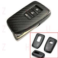 For Lexus IS ES GS RC NX RX LX 200 250 350 Key Carbon Fiber Key Fob Shell Cover