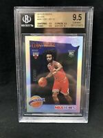 2019-20 NBA HOOPS #295 Coby White Premium Silver /199 BGS 9.5 D98