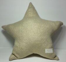 Pottery Barn Emily Meritt gold Star Pillow knit