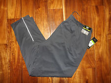 NWT Mens UMBRO Charcoal Straight Leg Relaxed Fit Reflective Active Pants XXL