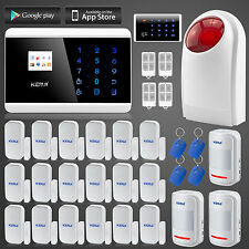 APP Control Wireless keypad RFID GSM Home House Security MOTION Alarm System
