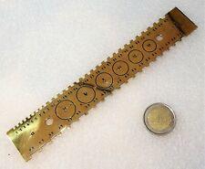 belle jauge d'horloger 19ème en laiton signée P R