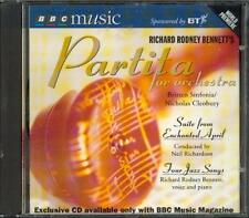 RICHARD RODNEY BENNETT: PARTITA / ENCHANTED APRIL SUITE / 4 JAZZ SONGS - BBC CD