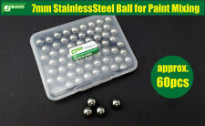 J's Work 7mm Stainless Steel Ball for Paint Mixing (approx. 60pcs)