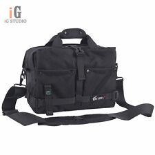 EIRMAI Black DSLR Camera Bag Messenger Shoulder Bag For Canon 60D 5DII Nikon