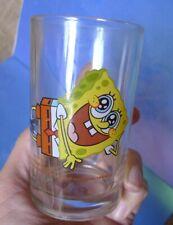 Vintage Viacom Collectibles Cartoon SpongeBob Sponge Bob Square Pants GLASS Cup