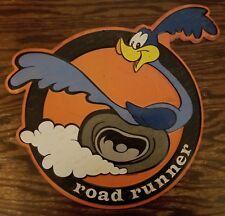 ROAD RUNNER DECOR plaque wheel tire bird racing hot rod logo rims muffler auto