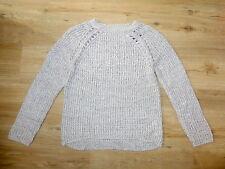 H&M Strick-Pullover in grau, Acryl, Gr. 146/152, NEU