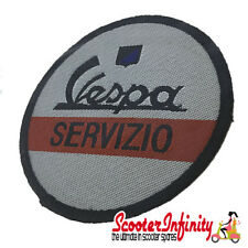 Patch Clothing Sew On - Vespa Servizio (No. 2) (Mod) (80mm, 80mm)