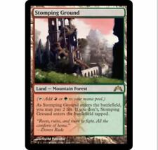 1x Stomping Ground GTC Gatecrash No247 MTG MINT/Unplay English Magic Rare X1