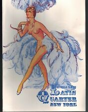 MC-202 - Latin Quarter, New York, Diamond Fair Program, Loew, Mamie Van Doren