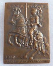 Médaille attribuée Réseau Maquis FFI BAYARD Résistance France 1940-1944 BRONZE