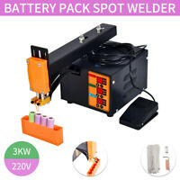 Spot Welder 220V 3KW Battery Spot Welding Machine for 18650 Battery Pack TOP
