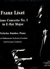 Franz Liszt Lp Piano Concerto - Nicholas Zumbro