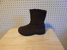 Womens Eddie Bauer weatheredge Snow Winter Boots #2995  - size 7M - brown