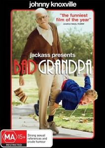DVD JACKASS PRESENTS BAD GRANDPA JOHNNY KNOXVILLE BRAND NEW SEALED FAST POST