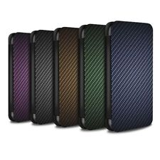 Étuis, housses et coques verts en fibre de carbone pour téléphone mobile et assistant personnel (PDA) à motifs