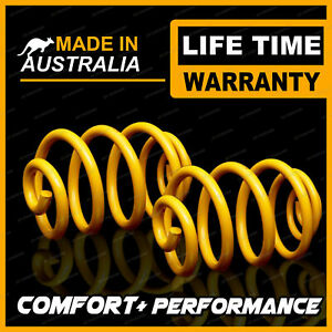 70MM Ultra Low Rear King Coil Springs for HOLDEN COMMODORE SEDAN VR IRS V6 93-95
