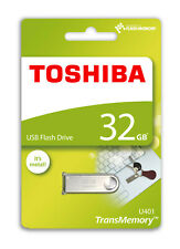 Toshiba TransMemory U401 metal 32 GB USB-2.0 Stick (THN-U401S0320E4) Flash Drive