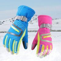 Winter Professional Waterproof Warm Ski Gloves Snow Windproof Snowboard Mittens